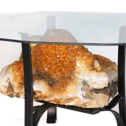 Citrine Crystal Coffee Table DS146-1   Himalayan Salt Factory