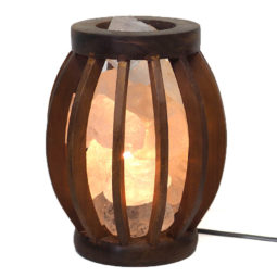 Clear Quartz Rocks Oval Lamp   Himalayan Salt Factory