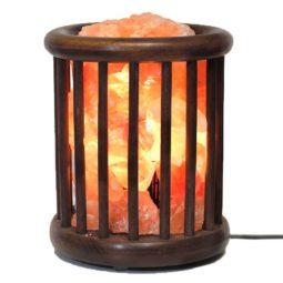 Himalayan Salt Chunk Tubular Lamp | Himalayan Salt Factory