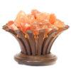 Himalayan Salt Chunks Lotus Lamp | Himalayan Salt Factory