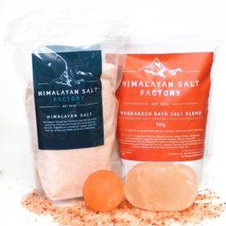 Nature's Antibacterial Package - Marrakech Bath Salt   Himalayan Salt Factory