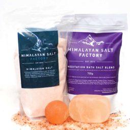 Nature's Antibacterial Package - Meditation Bath Salt   Himalayan Salt Factory