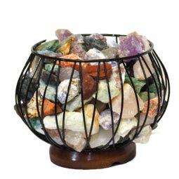 Rough Crystal Rock Relaxing Amore Lamp | Himalayan Salt Factory