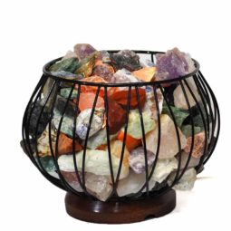Rough Crystal Rock Relaxing Amore Lamp | Himalayan Salt Factory