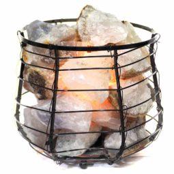 Rough Crystal Rock Relaxing Capsule Lamp   Himalayan Salt Factory