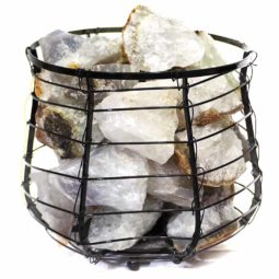 Rough Crystal Rock Relaxing Capsule Lamp | Himalayan Salt Factory