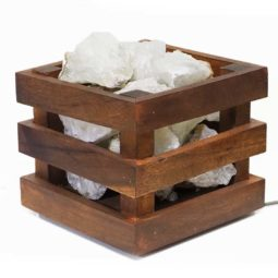 Rough Crystal Rocks Cubic Lamp | Himalayan Salt Factory