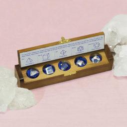 Clear Quartz Sacred Geometry Set 2   Himalayan Salt Factory