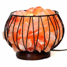 3.5kg Himalayan Salt Chunks Amore Lamp | Himalayan Salt Factory