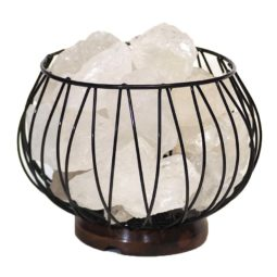 Clear Quartz Rocks Relaxing Amore Lamp