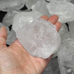 5kg Clear Quartz Rough Parcel   Himalayan Salt Factory