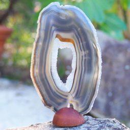 Natural Agate Plate J861 | Himalayan Salt Factory
