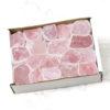 Rose Quartz Rough Tray | Himalayan Salt Factory