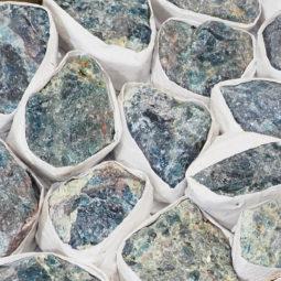Rough Apatite Tray - Small   Himalayan Salt Factory