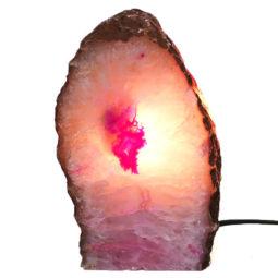 Agate Crystal Lamp J1114   Himalayan Salt Factory