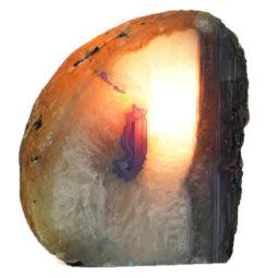 Agate Crystal Lamp J1162   Himalayan Salt Factory