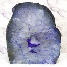 Agate Crystal Lamp J1184   Himalayan Salt Factory