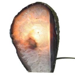 Agate Crystal Lamp J1266   Himalayan Salt Factory