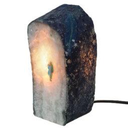 Agate Crystal Lamp J1271   Himalayan Salt Factory