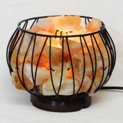 Citrine Rough Amore Lamp | Himalayan Salt Factory