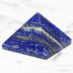 Lapis Lazuli Pyramid - Large | Himalayan Salt Factory