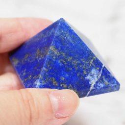 Lapis Lazuli Pyramid - Medium | Himalayan Salt Factory
