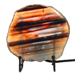 Brazilian Sliced Agate Crystal Lamp J1302-2 | Himalayan Salt Factory