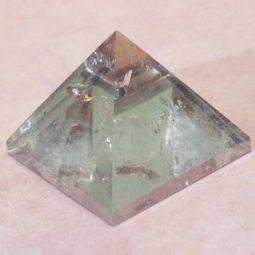 Clear Quartz Pyramid – Large   Himalayan Salt Factory