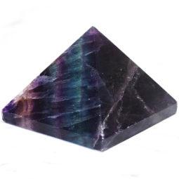 Rainbow Fluorite Pyramid – Large   Himalayan Salt Factory
