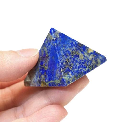 Lapis Lazuli Pyramid - Small   Himalayan Salt Factory