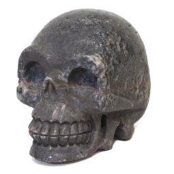 Natural Crystal Jasper Hand Carved Skull DJ1464 | Himalayan Salt Factory