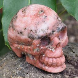 Natural Crystal Jasper Hand Carved Skull DJ1471 | Himalayan Salt Factory