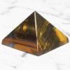 Tiger Eye Pyramid – Large   Himalayan Salt Factory