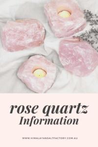 Rose Quartz Information | Himalayan Salt Factory