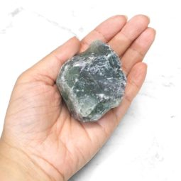 0.5kg Polished Fluorite Roughs Parcel   Himalayan Salt Factory