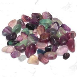 0.8kg Polished Rainbow Fluorite Stones Parcel   Himalayan Salt Factory
