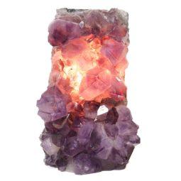 Natural Amethyst Crystal Lamp DS457-2 | Himalayan Salt Factory