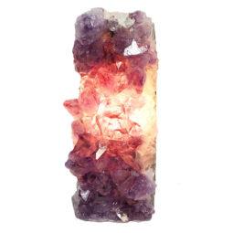 Natural Amethyst Crystal Lamp DS462 | Himalayan Salt Factory