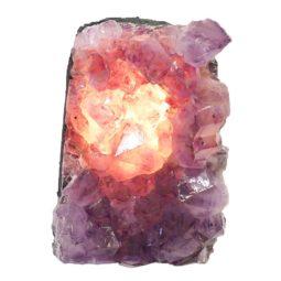 Natural Amethyst Crystal Lamp DS466-2 | Himalayan Salt Factory