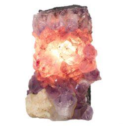 Natural Amethyst Crystal Lamp DS474-1 | Himalayan Salt Factory
