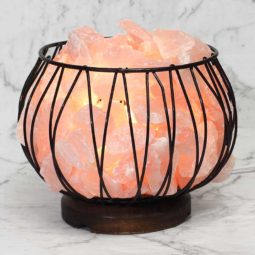 Rose Quartz Rough Amore Lamp | Himalayan Salt Factory