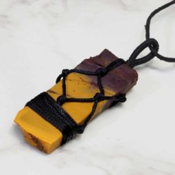 Natural Tiger Eye Netted Necklace P003 | Himalayan Salt Factory