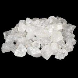 1kg Clear Quartz Small Rough Parcel   Himalayan Salt Factory