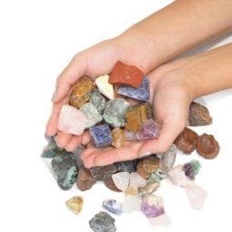 1kg Mixed Crystal Small Rough Parcel   Himalayan Salt Factory