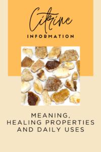 Citrine Information | Himalayan Salt Factory