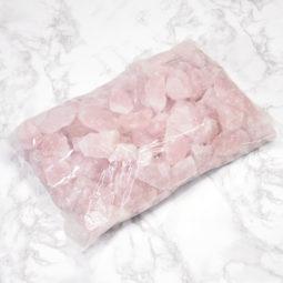 5kg Rose Quartz Small Rough Parcel | Himalayan Salt Factory