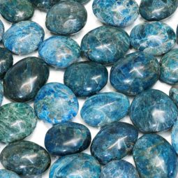 Apatite Polished Palm Stone - Medium | Himalayan Salt Factory