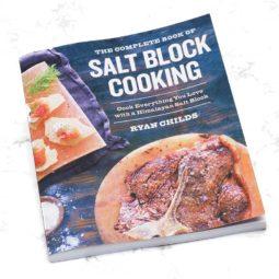Slat Black Cooking Book | Himalayan Salt Factory