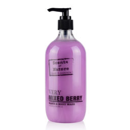 Tilley Scents of Nature Body Wash Mixed Berry 500ml   Himalayan Salt Factory