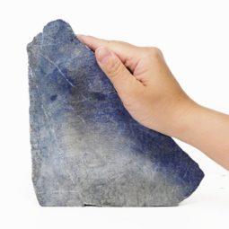 Natural Lapis Lazuli Freeform Stand DS814 | Himalayan Salt Factory